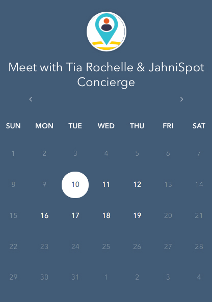 Meet Tia Rochelle JahniSpot Corporate Concierge